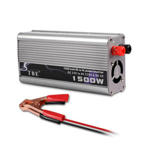 1500W Modified Sine Wave Car Inverter DC 12V/24V/48V to AC 220V Cigarette Lighter Plug Power Converter With USB Port Adapter smart 600w 24v car modified sine wave inverter solar system dc 24v to ac 220v inverter with usb charging port universial socket