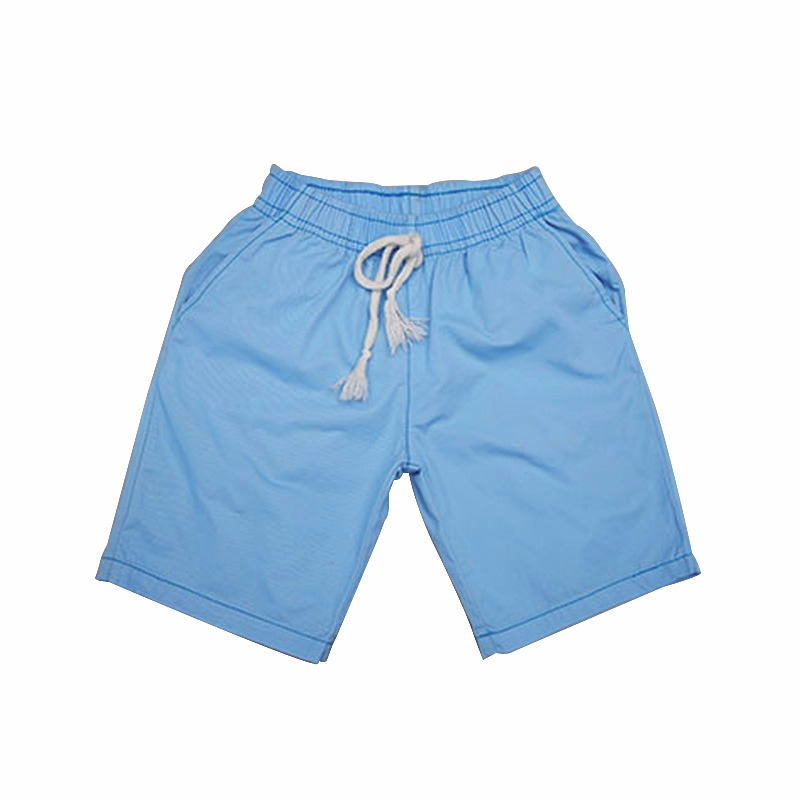 2018 Solid Colors Kids Trousers Casual Loose Mid Children Pants Five Sub 3-14Y Boys Shorts KP-1813 casual mid waisted colorful loose exumas pants for women
