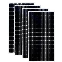 TUV Waterproof Photovoltaic Panel 24v 200w 4 Pcs  Solar System 800W 220v Battery Charger Motorhome Caravan Car Camp