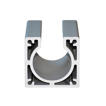 цена на Nema23 Motor mounts base 57X45mm stepper motor bracket for diy cnc router machine