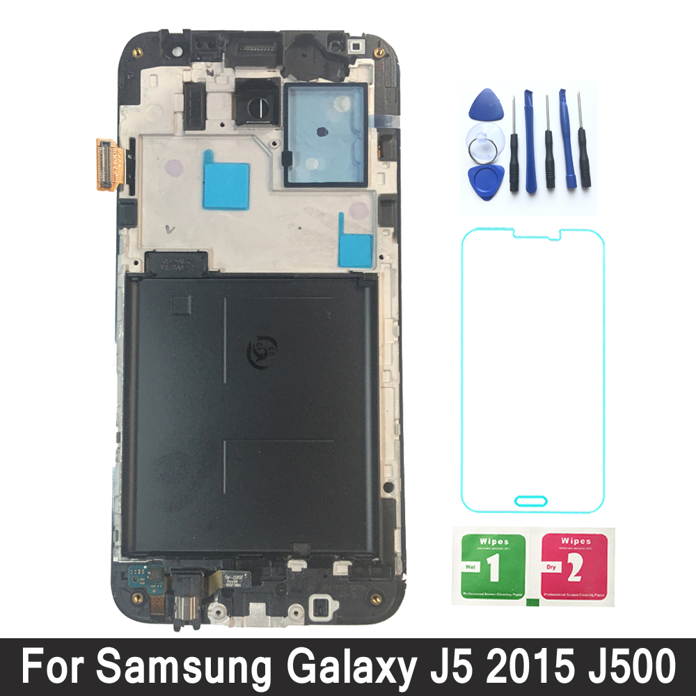 Display For Samsung Galaxy J500 LCD Display Touch Screen Adjust Brightness Frame For Samsung J500F J500FN J500M J500HDisplay For Samsung Galaxy J500 LCD Display Touch Screen Adjust Brightness Frame For Samsung J500F J500FN J500M J500H