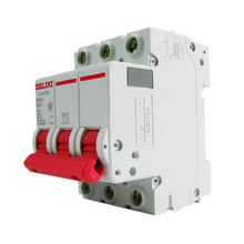 3Pole  D Curvers Magnetotermico 10a DZ47s-63 DELIXI MCB 10A-63A 10A 16A 20A 25A 32A 40A 50A 63A Miniature Circuit Breaker