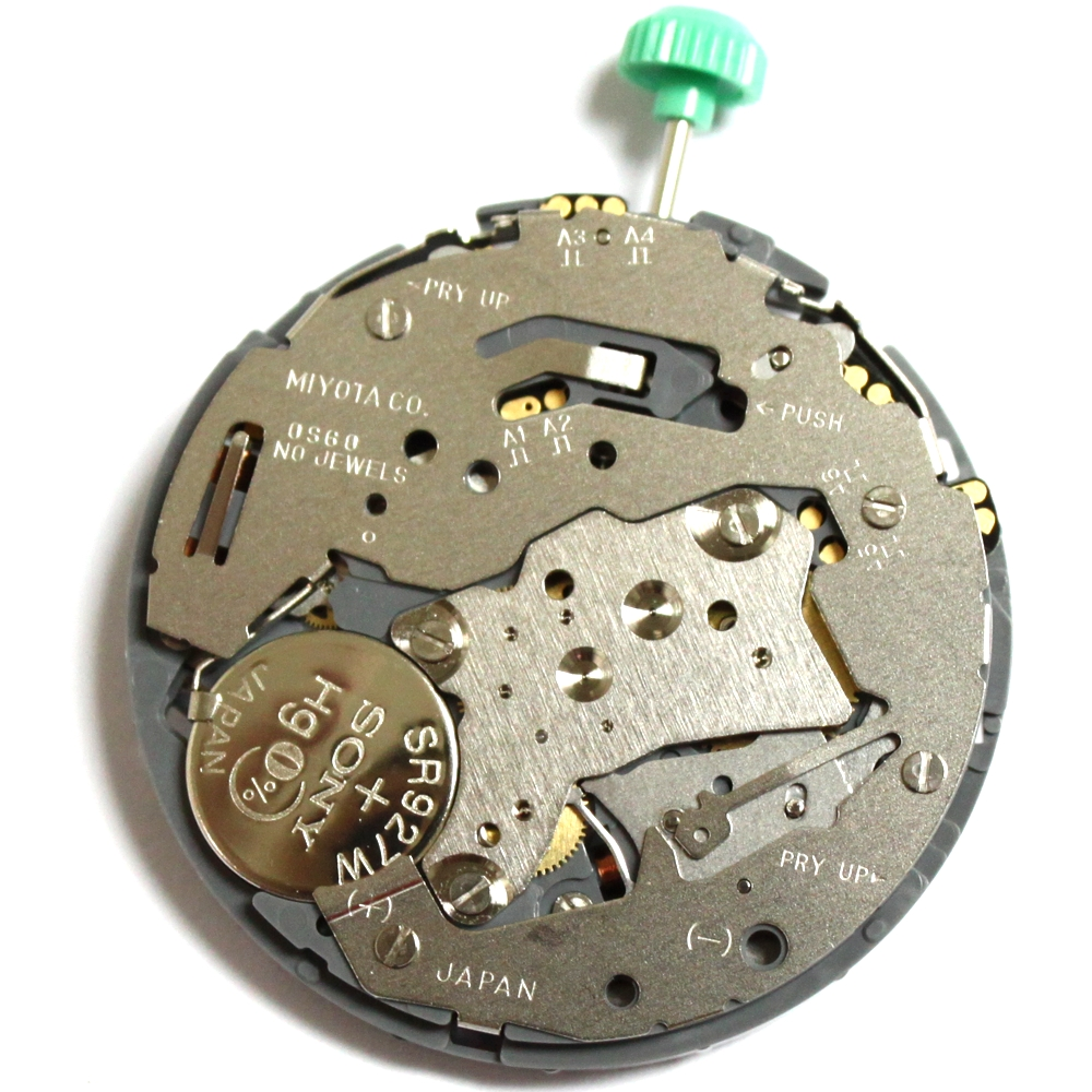 0S60 Miyota Quartz Watch Movement BATTERY OS60 calibre replace repairs
