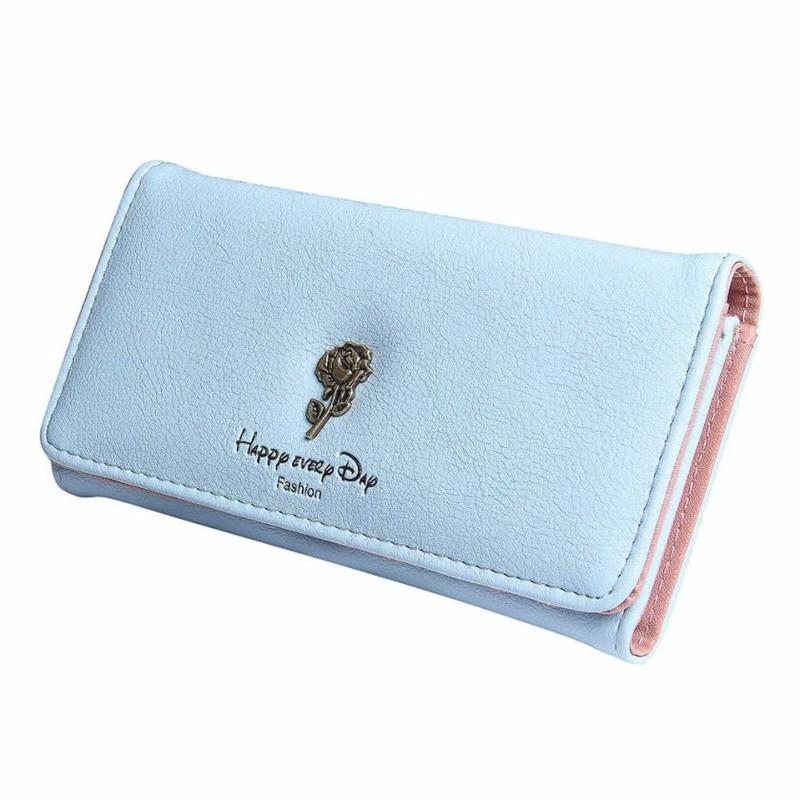 Wallet card Women's purse Women Simple Coin Purse Long Wallet Card Holders Handbag Bag leather handbags Purse for Women 2017 #3 mooistar2 3001 women solid color coin purse long wallet card holders handbag