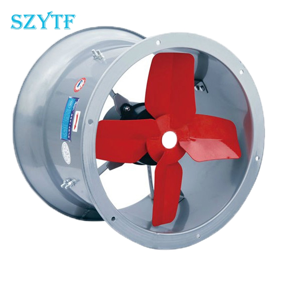 SZYTF Stainless steel fan 220V high temperature resistance s industry low noise axial flow centrifugal fan