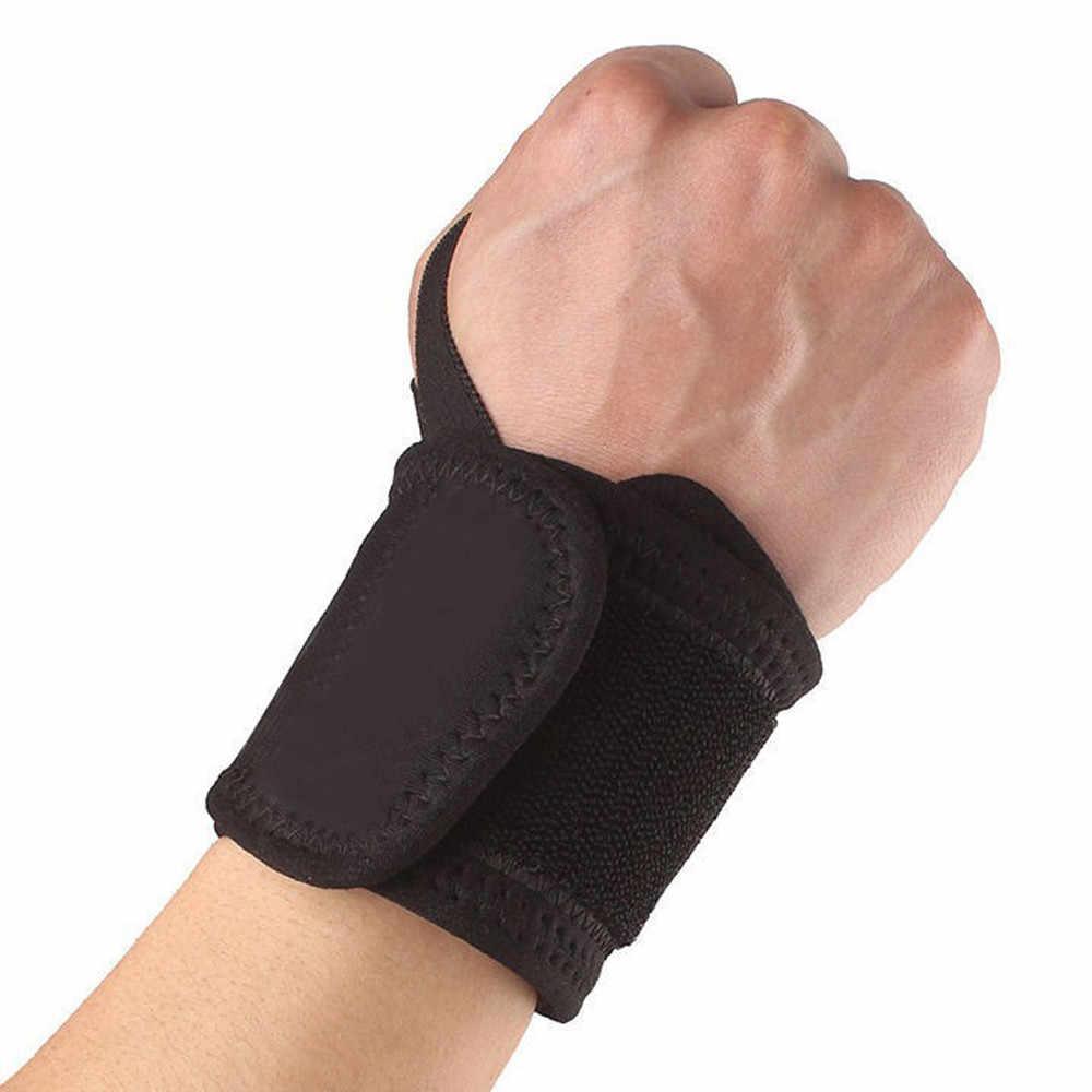 Muñequera de mano con correa ajustable para ejercicios de entrenamiento, muñequera, vendaje, muñequera, soporte para artritis, 4,0 #