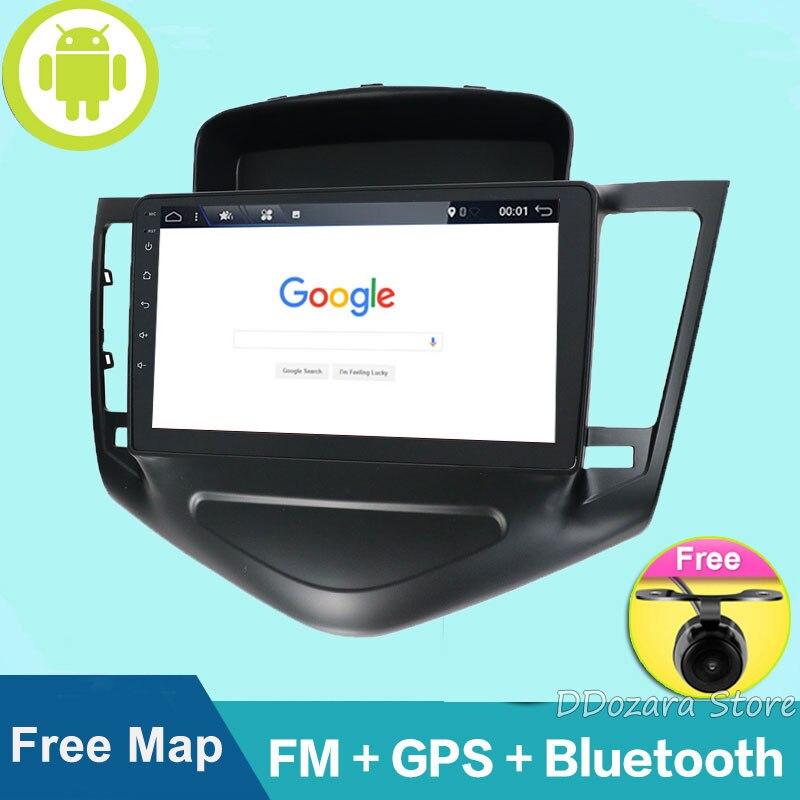 9 pouces grand écran Android 8.1 voiture PC avec 3G 4G WIFI GPS Navigation Radio lecteur multimédia pour Chevrolet CRUZE