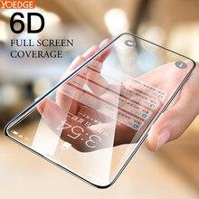6D 9Hความแข็งโค้งเต็มรูปแบบกระจกนิรภัยสำหรับiPhone 7 PlusสำหรับiPhone 6S 6 8PLUS 11 pro X XR XS MAX 7 Plusหน้าจอป้องกันฟิล์ม