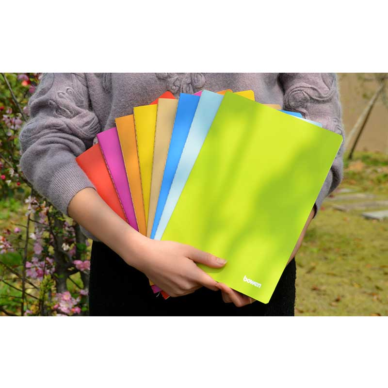 8 Candy Colors A4 Notebook Soft Copybook Notebook Simple Small Fresh Student Stationery For Class Notes
