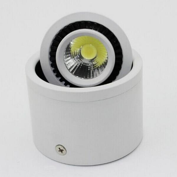12pcs DHL besplatna dostava zatamnjena 7W 10W 15W LED strop dolje - Unutarnja rasvjeta - Foto 2