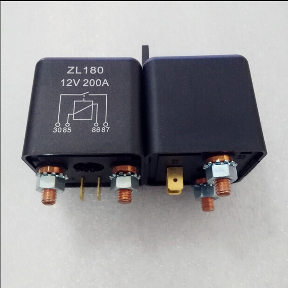 Automobile Relay Zl180 Normally Open Electromagnetic Current 200 A 4 Prong Starter Getsubject Aeproductgetsubject