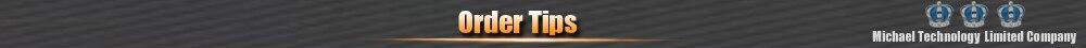 Order tips