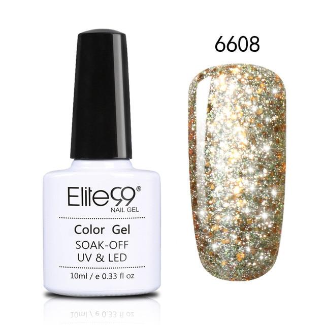 Elite99 10ml Super Bling Gel Nagellack Tränken Weg Glänzende Starry UV LED Gel Polish Long Lasting DIY Nagel art Design Gel Lack