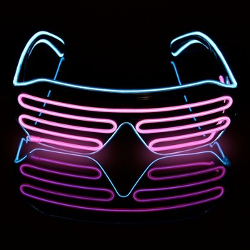 Luxusné svietiace okuliare do tmy – rôzne farby