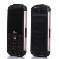 Oeina XP6000 Power Bank Phone Dual Torch Rugged Mobile phone Metal Side GSM Senior old man cell Phone Dual sim