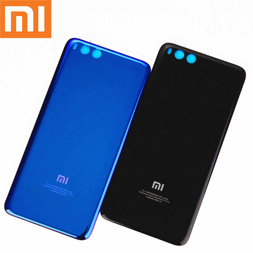 for Xiaomi Mi Note3 Official Original Tempered Glass Case for Xiaomi Note3 Mi Note 3 Back Battery Cover Housing Replacement Part