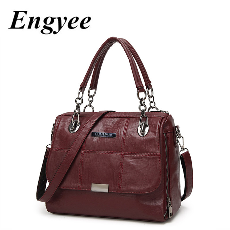 Female Top-handle Bag Women Handbags Genuine Leather Crossbody Bags For Women Famous Brand Girls Messenger Shoulder Sling Bag genuine leather women striped handbags patchwork lady shoulder crossbody bag brand design colorful stripe sling bag random color