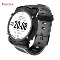 DeaGea DFS08 Swimming smartwatch Waterproof Wristband GPS watch IP68 Heart Rate Monitor Sports Tracker Fitness watch men kw88