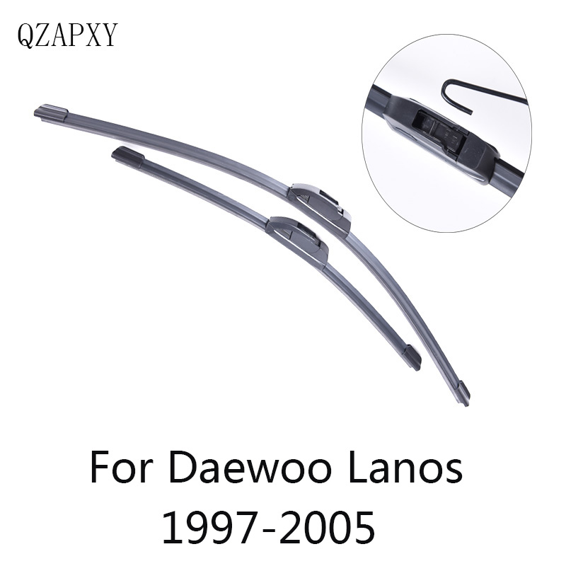 QZAPXY Wiper Blades for Daewoo Lanos 1997 1998 1999 2000