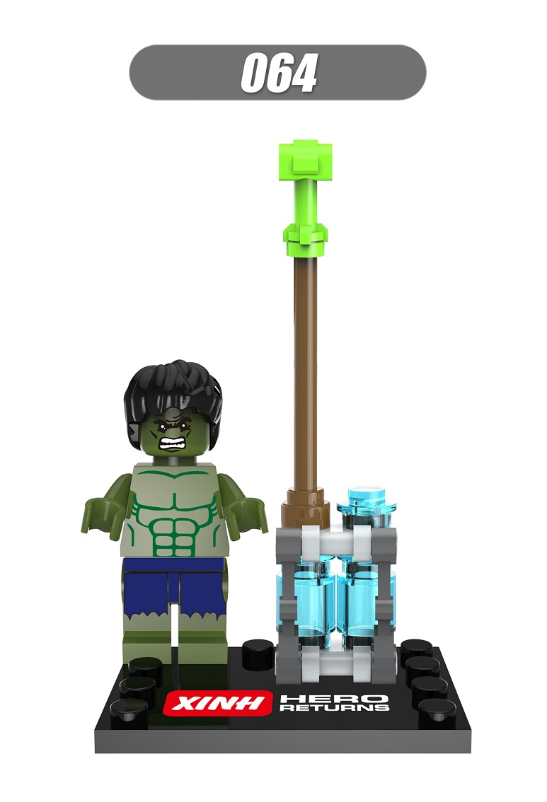 20Pcs XH 064 Super Heroes Star Wars Age of Ultron Ninja Building Blocks Bricks Action Toys for children Gift