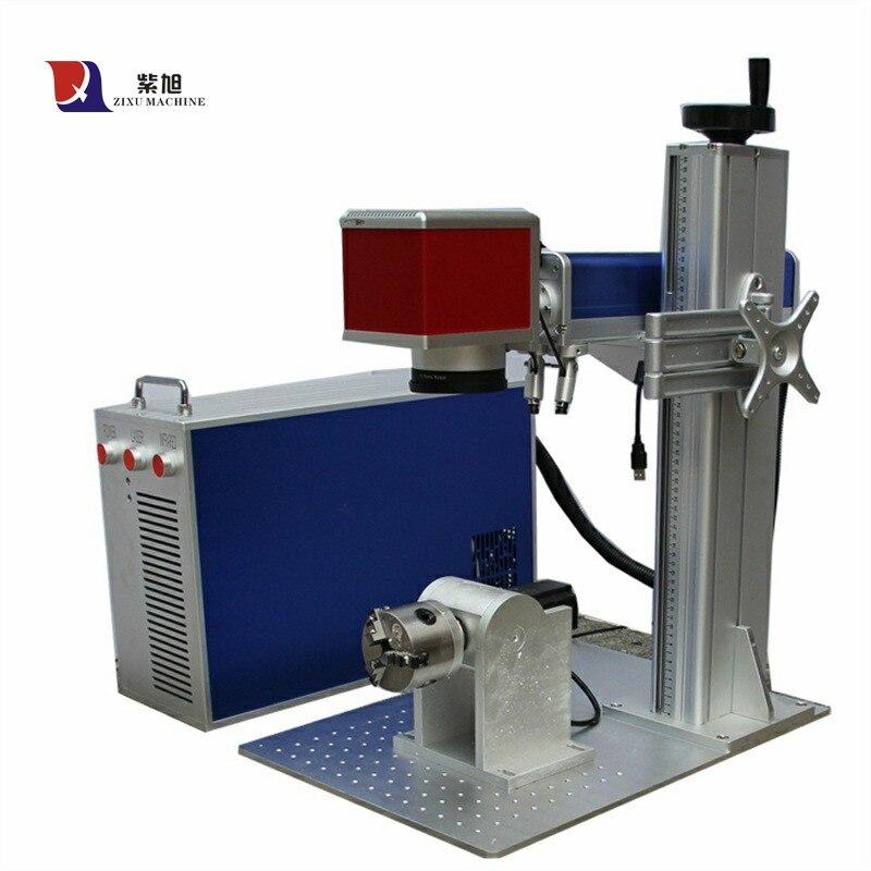 Fiber Laser Marking Machine For Metal & Non Metal Laser Marking Machine Rotary