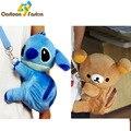 Bonito Lilo & Stitch ponto Rilakkuma bichos de pelúcia urso de pelúcia mochila Kawaii Messenger Bag bolsa Bag saco dos desenhos animados