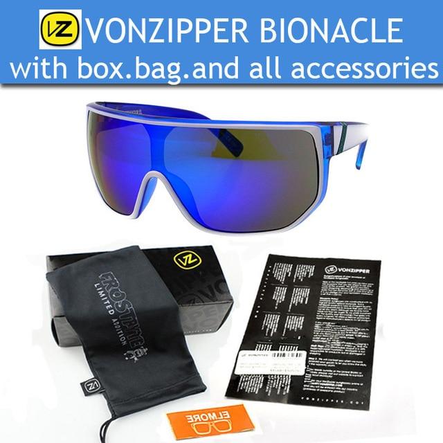 3fd01f0121d22 2015 New Fashion Brand Sunglasses Men Vonzipper Bionacle Original Pack Oculos  De Sol VZ von zipper
