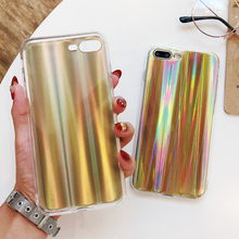 Luxury Glitter Phone Case For iPhone X XR XS MAX Cool Laser Bling Shining Cases iphone 8 7 6 6S Plus Soft TPU Silicone Cover