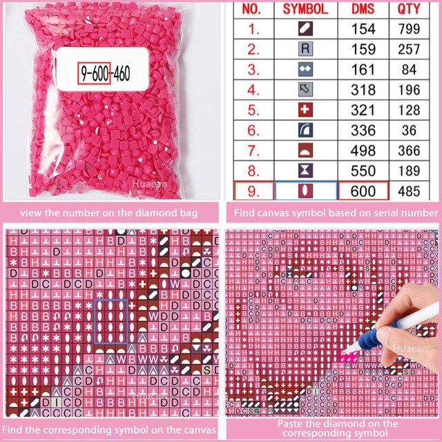 Diamond Painting Tree Diamond Embroidery Scenic Cross Stitch Full Square Diamonds Mosaic Needlework Patterns Rhinestone Decor
