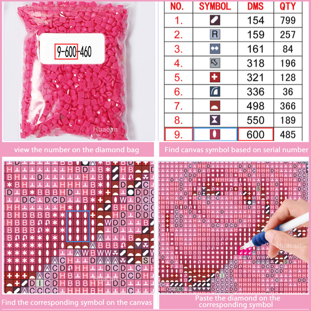 Huacan Full Square 5D DIY Diamond Painting Turtle 3D Embroidery Cross Stitch Diamond Mosaic Animal Home