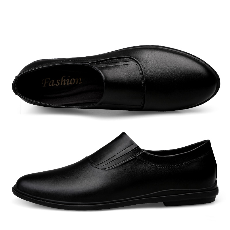 Genuine Leather Men Flats Handmade Plus Size Soft Men Loafers Moccasins Business Casual Shoes Men Dropshipping in Men 39 s Casual Shoes from Shoes