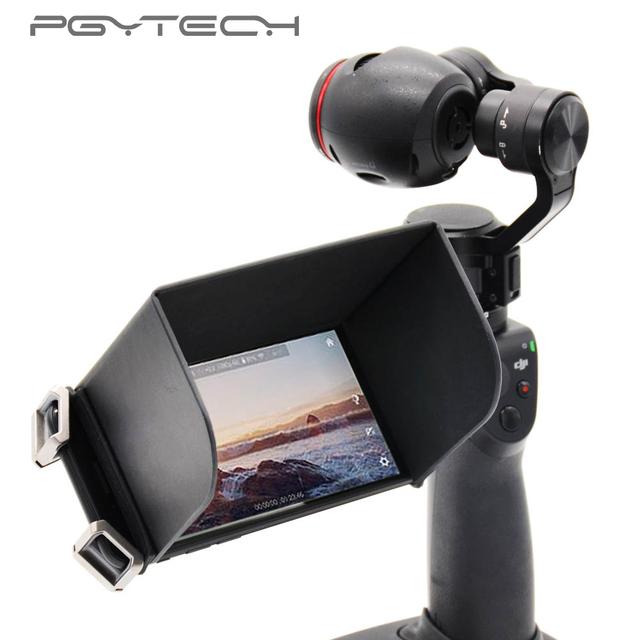 PGYTECH Remote Controller Monitor Phone Sun hood Sunshade for FPV DJI MAVIC AIR /Pro DJI SPARK Phantom 3/4 Pro inspire M600 osmo