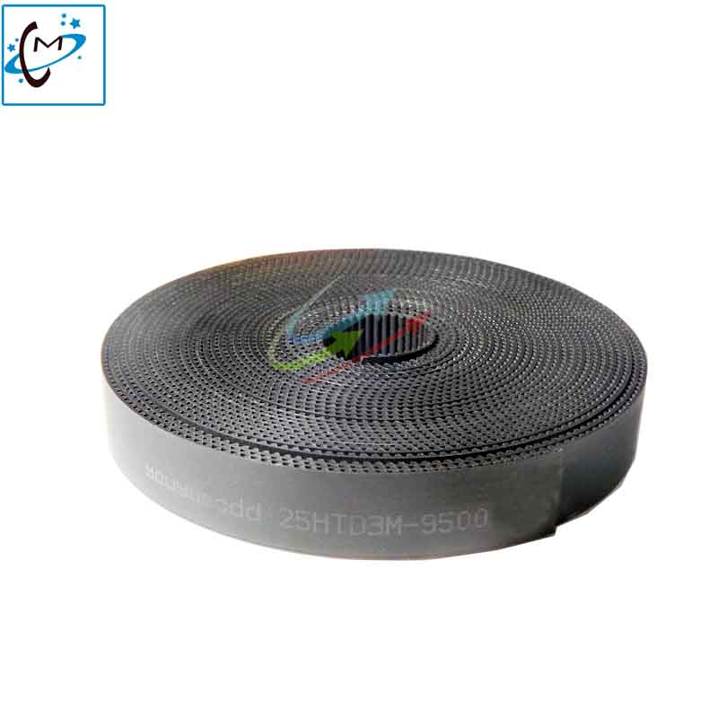 25MM-3M-9000 carriage long belt for inkjet printer JHF Vista Leopard H8 3308X A3308F 3306 timing flat long belt 1pc x axis 9 meters 16 9 xl 9000 timing megadyne belt for gongzheng wit color inkjet printers