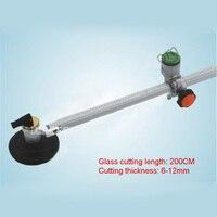 High Quality Max Cutting Glass Diameter 200CM Oiling Circle Cutter Glass Push Knife 6 12mm Cutting
