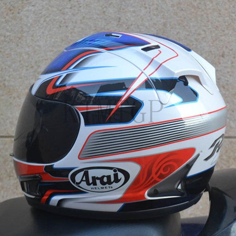 Casque Arai Rx7-casque de course top RR5 pedro moto rcycle casque intégral moto rcycle, capacete, casque de moto - 5