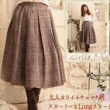 Skirts Mid Linen Girl