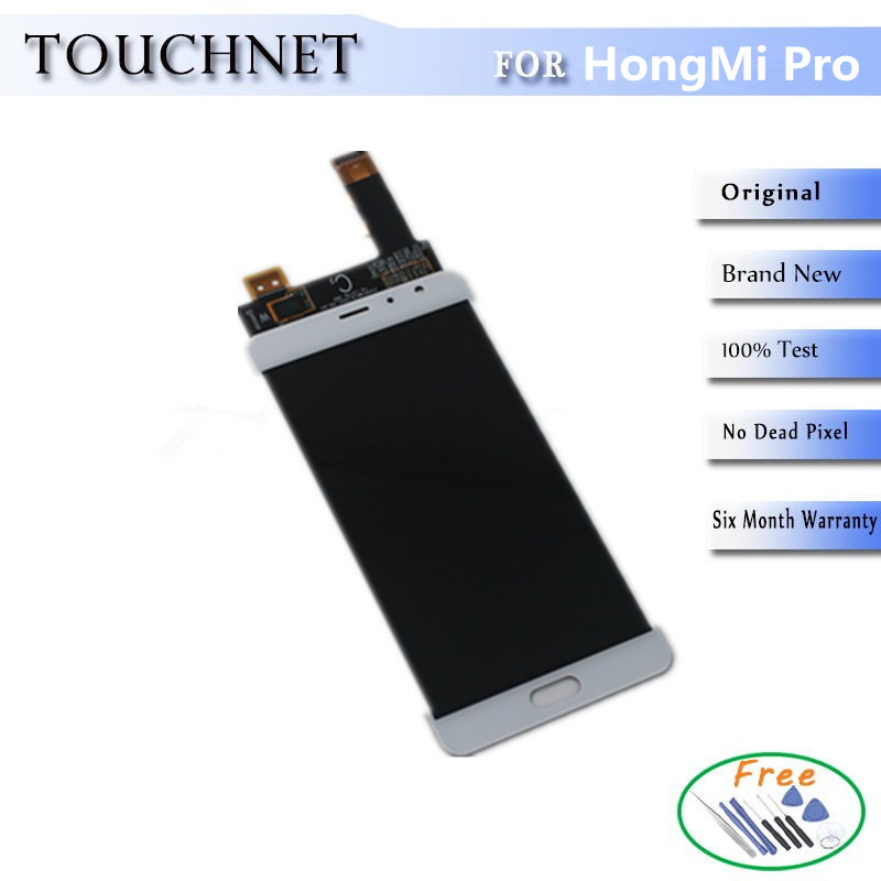 ФОТО 5Pcs/Lot Multi-Touch HD Screen LCD With Digitizer Touch Screen Assembly For HongMi /Red Mi/XiaoMi Pro Smartphone