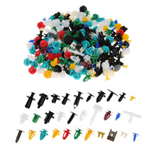 500PCS 20Kinds Universal Mixed Fasteners Door Trim Panel Auto Bumper Rivet Car Clips Retainer Push Engine Cover Fastener Kit недорого