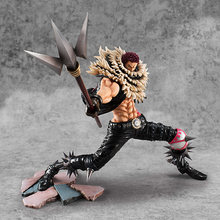Anime One Piece Portrait. Of. Pirates POP Charlotte Katakuri Action figure Modelo Brinquedos(China)