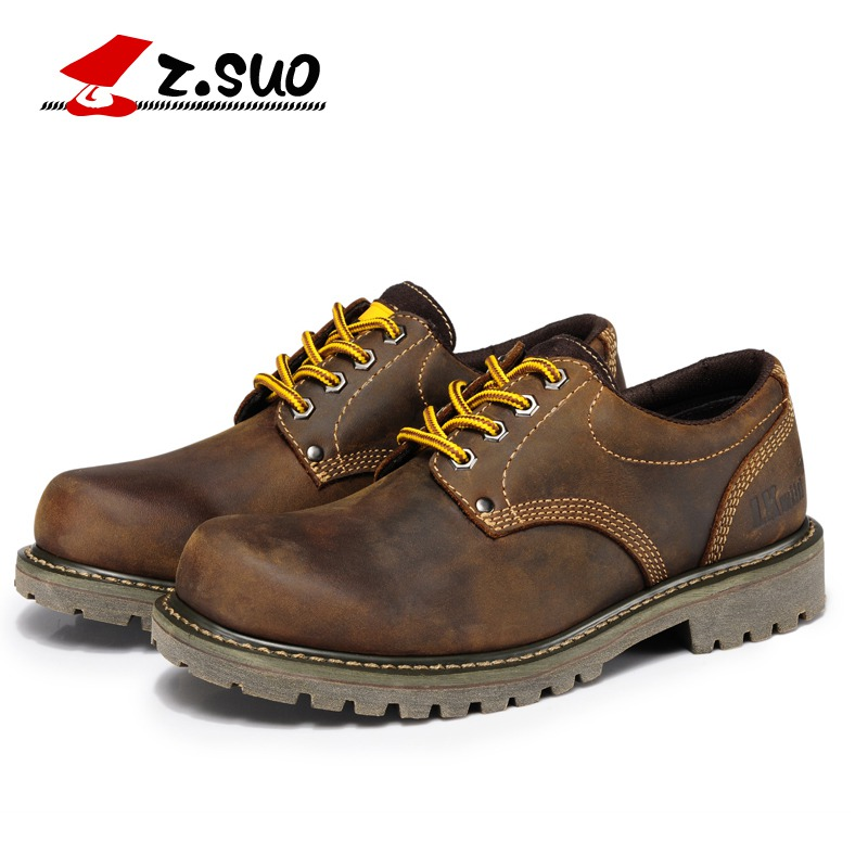 ФОТО 2016 new   fashion genuine leather men's boots  stylish men's shoes genuine leather men's casual shoes Martin Boots