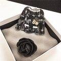 XZ3 Камелия Номер 5 Люксовый Бренд CC стиль Jewlery Значки и Броши Брошь Брошь Ювелирные Изделия для Женщин Одежда