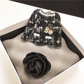 XZ3 Camélia Número 5 estilo Da Marca de Luxo CC Jewlery Pins e Broches Broche de Jóias de Moda para As Mulheres Roupas