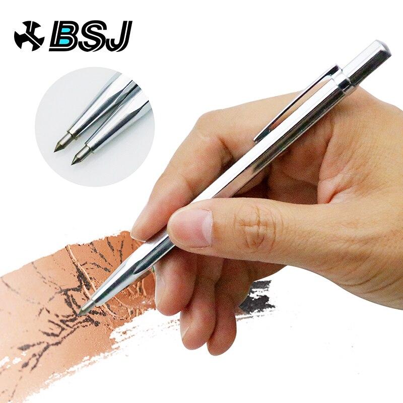 1 PC Diamante Gravura Em Metal Caneta de Ponta de Carboneto de Tungstênio Caneta Riscador de Vidro Escultura Em Madeira Mão Ferramenta De Metal Cerâmica