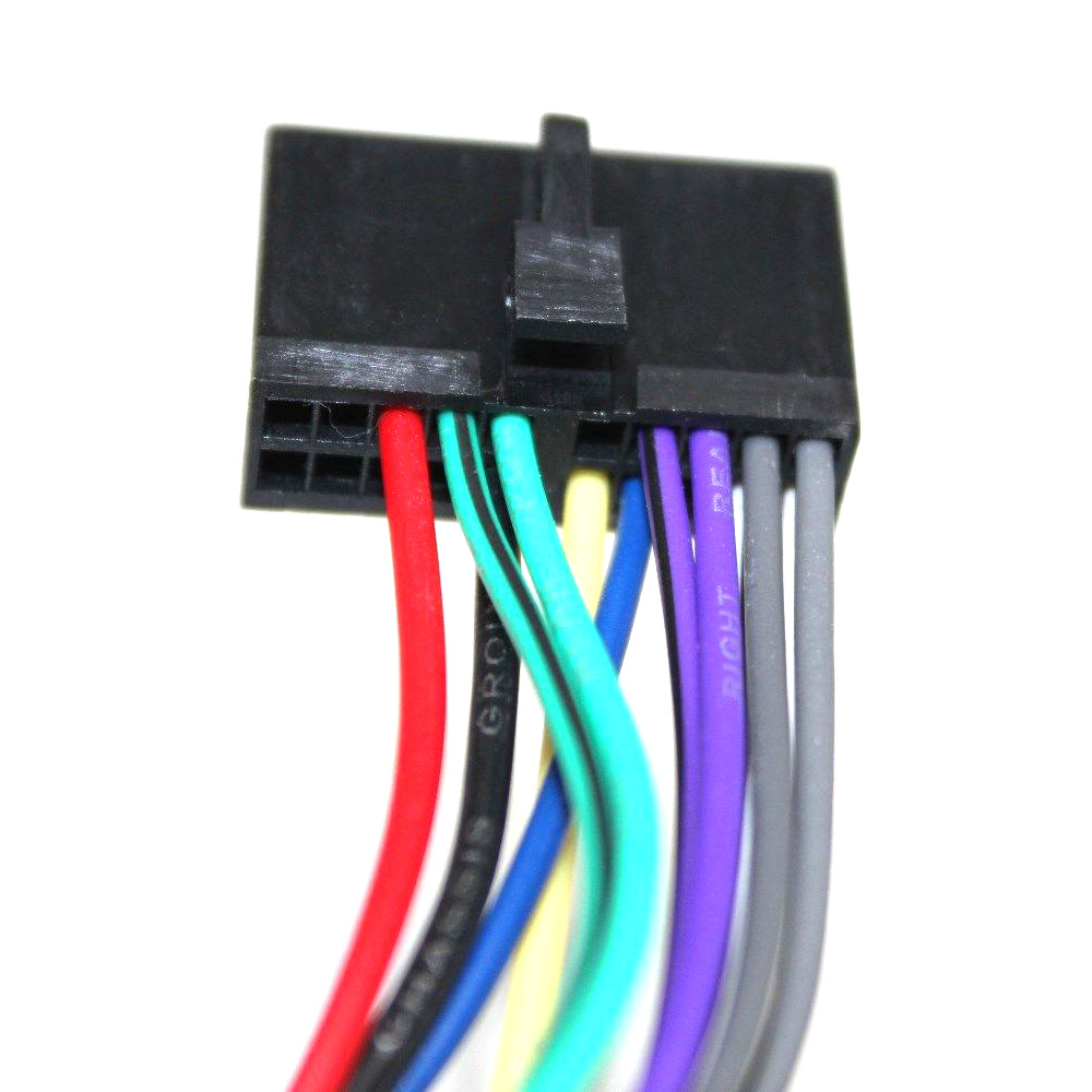 hight resolution of atocoto wiring harness connector wire adapter for jensen parrot car cd dvd radio audio stereo iso