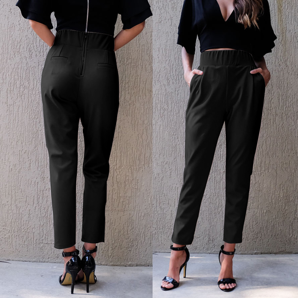 Popular Black Skinny Work Pants-Buy Cheap Black Skinny Work Pants ...