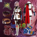 wholesale costume Final Fantasy XIII Lightning Halloween Cosplay Costume full set any size