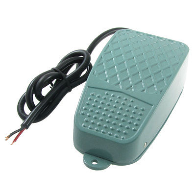 AC 250V 10A Momentary 1NO 1NC Foot Control Pedal Switch CFS-3 ac 250v 15a nonslip no nc momentary single action foot switch green