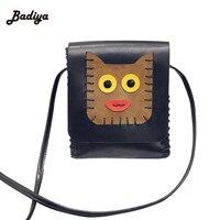 Fashion Small Cat Bag Knitting Women Messenger Bags Soft PU Leather Handbags Crossbody Bag For Women Clutches Bolsas Femininas