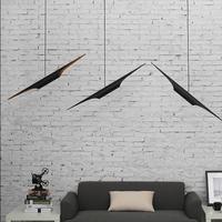 style inclined BLACK GOLD CHANDELIER metal aluminium tube chandelier bar restaurant loft chandelier clothing store