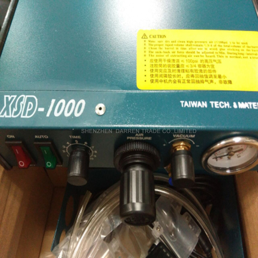 1PC 110V high-precision Semi-Automatic Glue Dispenser/Dispensing machines/plastic injection machine/sealing machine  цены